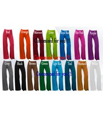 women's solid color palazzo wide legged pants many colors