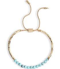 women's sterling forever stone slider bracelet