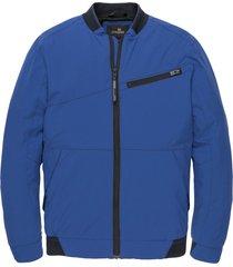 vanguard zomerjas kort kobalt vja201100-5302 blauw
