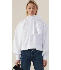 ganni blouse f4040 wit