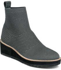 eileen fisher london stretch knit wedge booties women's shoes