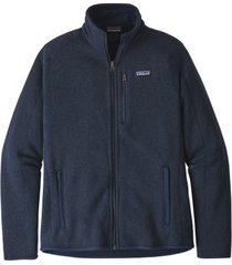 patagonia vest mens better sweater jacket neo navy-m