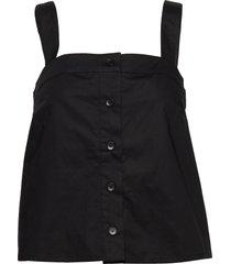 barbara top 10783 t-shirts & tops sleeveless svart samsøe samsøe