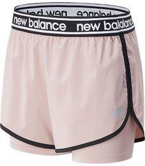 bermuda short para mujer  new balance