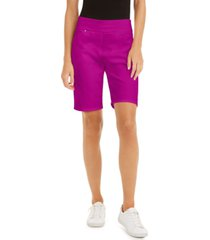 inc pull-on bermuda shorts, created for macy's