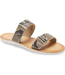 women's treasure & bond sofia slide sandal, size 9 m - beige