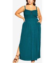 city chic plus size riviera maxi dress