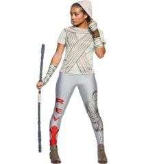 buyseason women's star wars rey rhinestone t-shirt costume