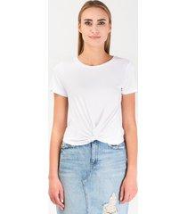 t-shirt letni biały