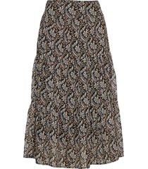 skirt knälång kjol multi/mönstrad sofie schnoor