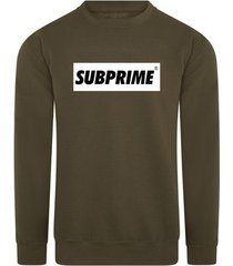 sweater subprime sweater block army
