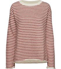 allaire sweatshirt stickad tröja rosa morris lady