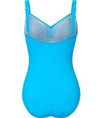 badpak met verstelbare schouderbanden van grimaldimare turquoise