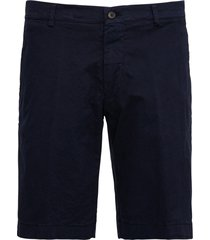 berwich blue cotton bermuda shorts