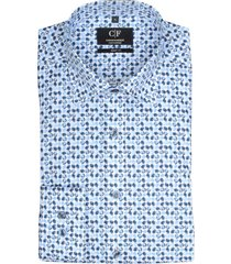 commander overhemd strijkvrij slim fit 213010586/606