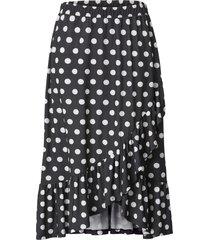 kjol sara lindholm svart::vit