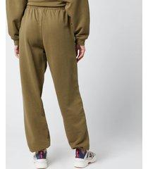 h2ofagerholt women's cream doctor 2 pants - army - l