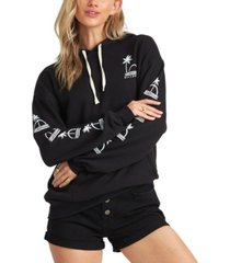 billabong juniors' vacation day fleece hoodie