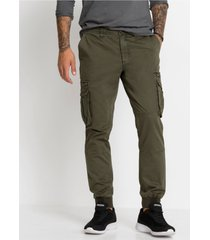 regular fit cargo broek, straight