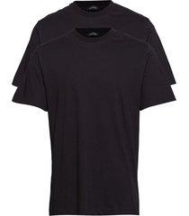shirt 1/2 underwear t-shirts short-sleeved svart schiesser