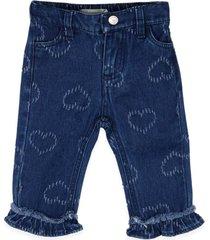 jeans bebe niña azul  pillin