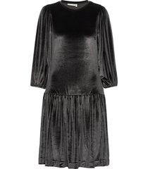 faryliw short dress jurk knielengte zwart inwear