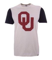 '47 brand oklahoma sooners men's blocked fieldhouse t-shirt