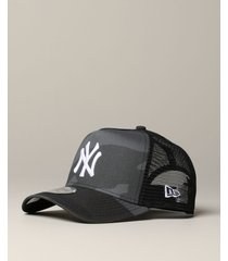 new era hat new era trucker hat with ny yankees logo and camu print