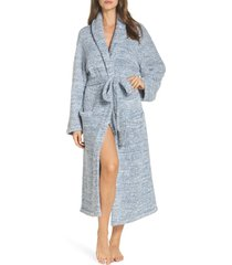 women's barefoot dreams cozychic unisex robe, size 1 - pink