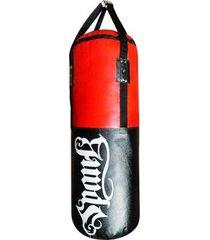 saco de pancada boxe clássico profissional spank vazio