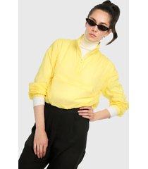 chaqueta amarilla active