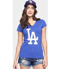 camiseta new era mlb babby look los angeles dodgers feminina