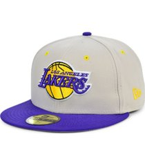 new era los angeles lakers stone 2 tone 59fifty cap