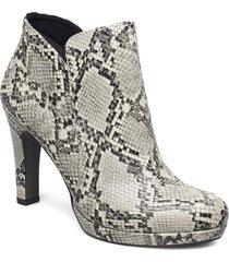 woms boots shoes boots ankle boots ankle boot - heel multi/mönstrad tamaris