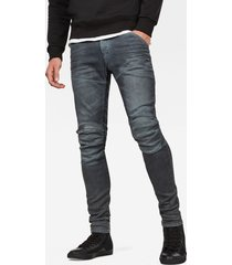 5620 3d zip knee super slim jeans
