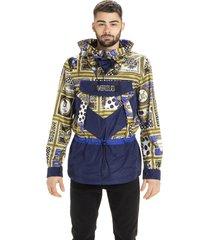 versus versace drawstring waist hoodie