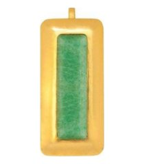 stephanie kantis crush rectangle pendant