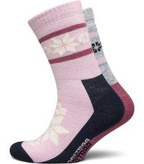 rusa wool sock 2pk lingerie socks regular socks rosa kari traa