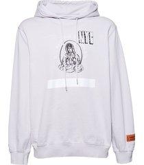 light grey holy spirit hoodie
