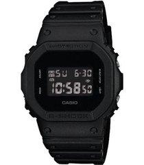 relógio casio g-shock dw-5600bb-1dr resistente a choques