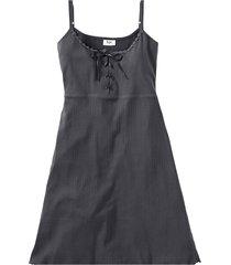 camicia da notte con spalline (grigio) - bpc bonprix collection