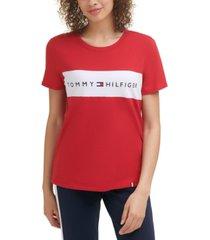tommy hilfiger sport colorblocked logo t-shirt