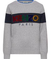 logo jb 13 sweat-shirt trui grijs kenzo