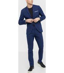 selected homme slhslim-oasis blue kavajer & kostymer