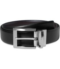 calvin klein men's big and tall reversible dress belt