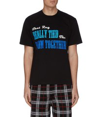 'lebowski together' slogan print t-shirt