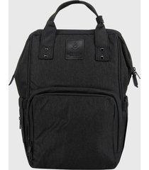mochila maternal negro lilas carteras