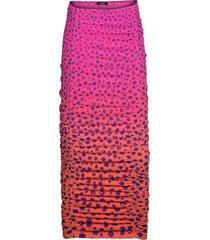 women's afrm venice ruched skirt