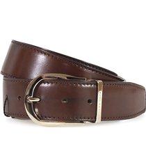 moreschi brown leather belt