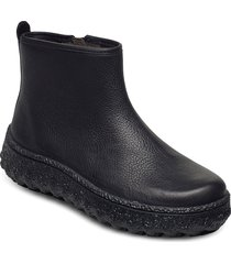 ground shoes boots ankle boots ankle boots flat heel svart camper